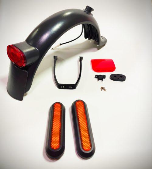 kit conversión guardabarros trasero para patinete Xiaomi pro m365 clásico